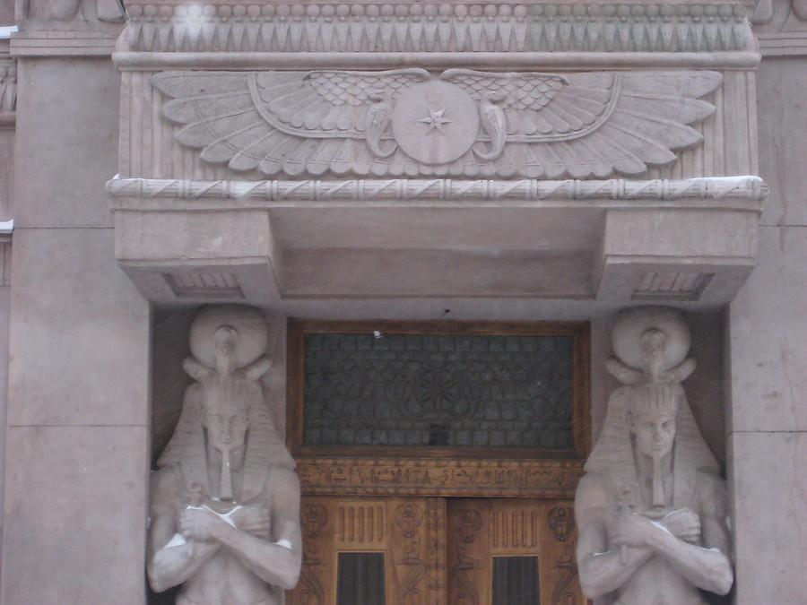 Египетский дом for yandex with love