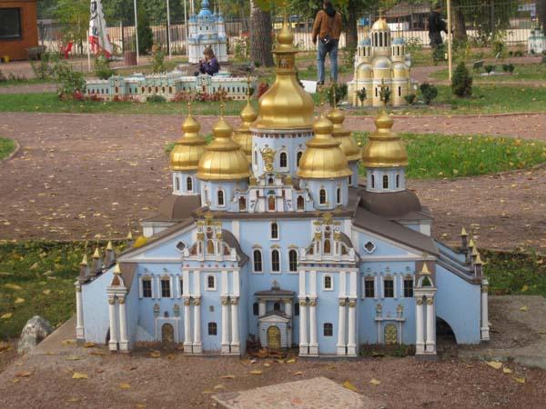 Музей Киев в миниатюре.  Торжественное открытие парка состоялось 23 июня 2006 года.  А идея создания парка миниатюр...