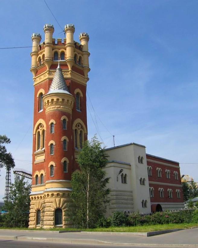 Водозапорная башня в казани