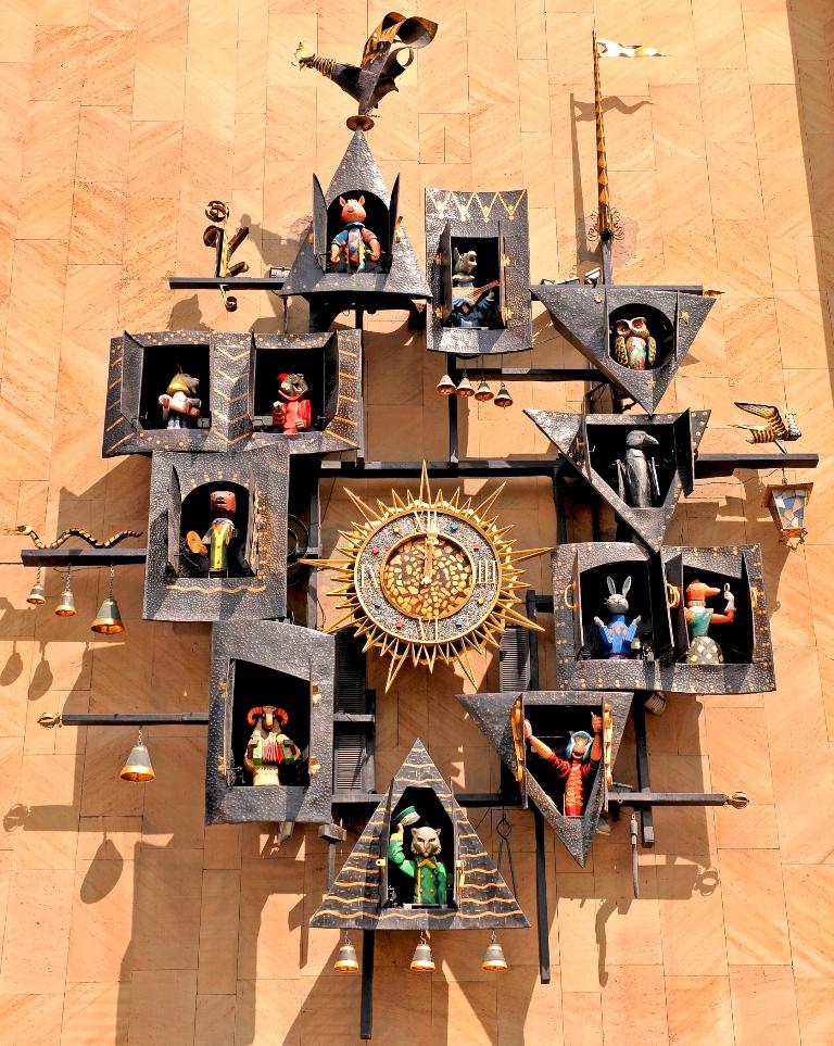 Часы на театре кукольный домик своими руками - 00