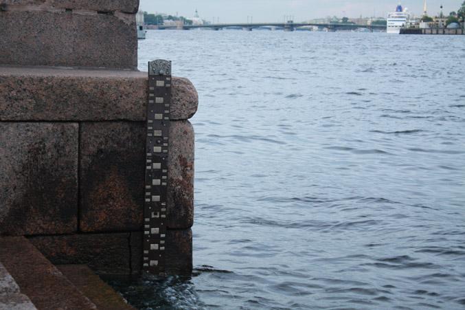 Уровень воды.