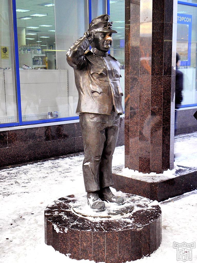 Памятники солдатам в ленеграде