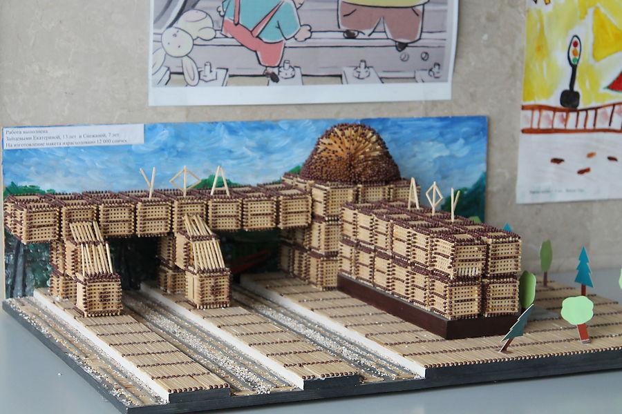 Железнодорожной вокзал своими руками 2