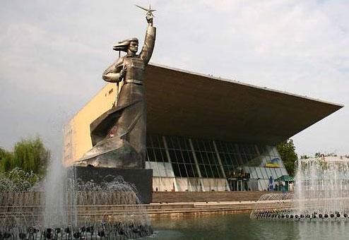 Интересные памятники краснодара фото