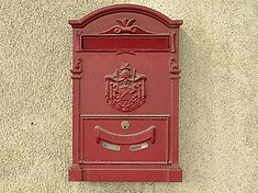 The mail box